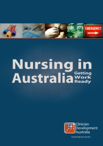 Nursing in Australia: Getting Work-Ready